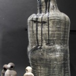 White Stoneware/Earthenware, Oxidation-fired to Cone 6 and Smoke-fired